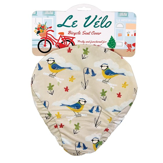 BLUE TIT BICYCLE SEAT COVER