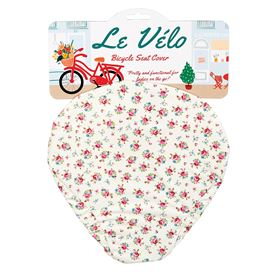 la petite rose bicycle seat cover