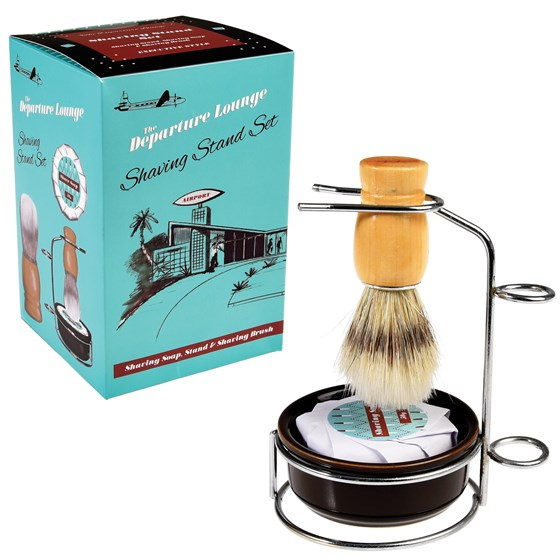DEPARTURE LOUNGE SHAVING STAND SET