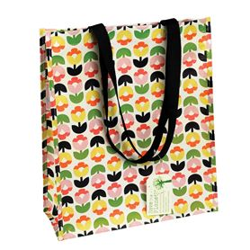 tulip bloom shopping bag