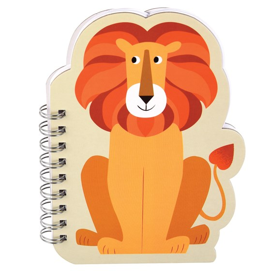 charlie the lion spiral notebook