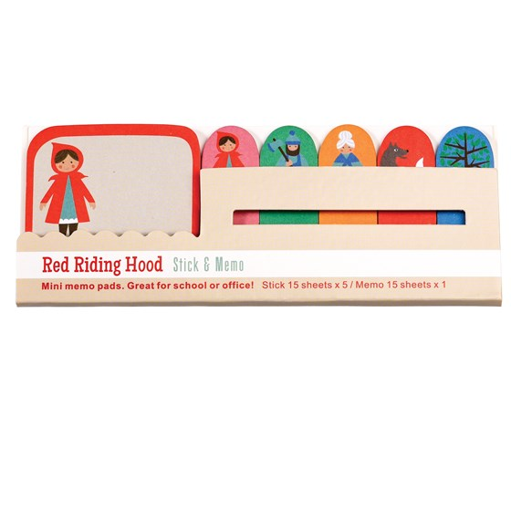 RED RIDING HOOD MINI MEMO PADS