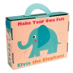 "kit de feutrine à coudre ""elvis the elephant"""