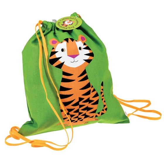 bolsa con cordón teddy the tiger