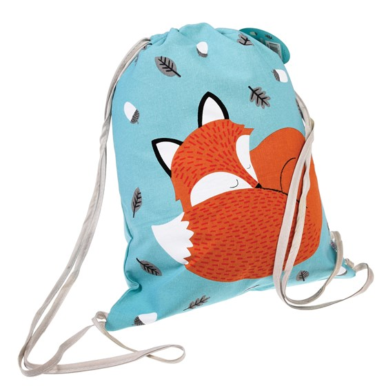 RUSTY THE FOX DRAWSTRING BAG