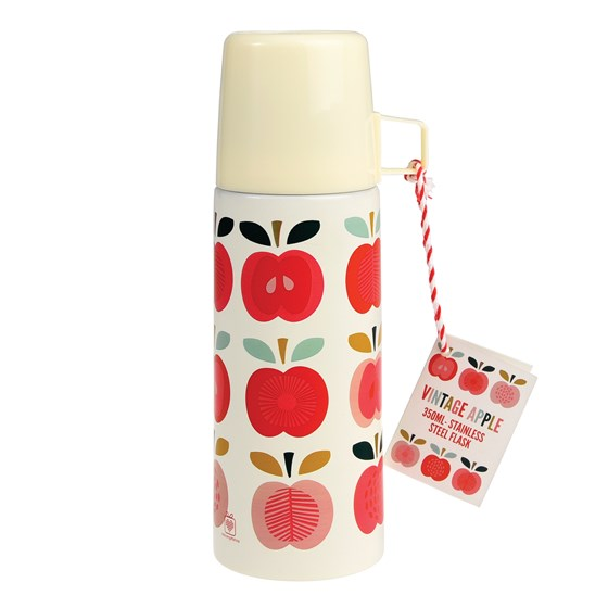 "thermosflasche ""vintage apple"""
