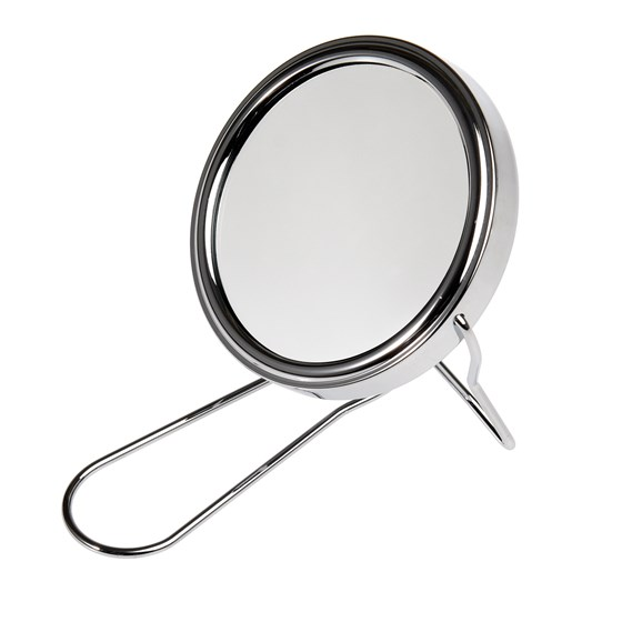 modern man shaving travel mirror