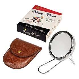 le bicycle travel shaving mirror