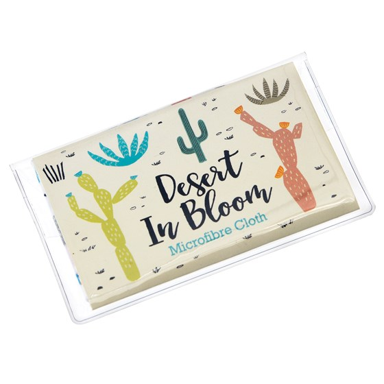 desert in bloom glasses cleaning cloth