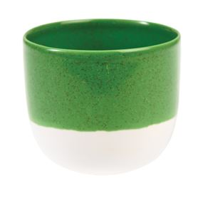 sage green dipped tealight holder