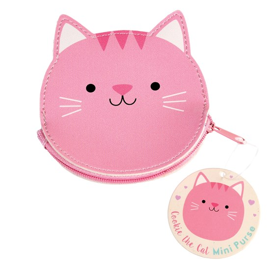 COOKIE THE CAT VINYL PURSE