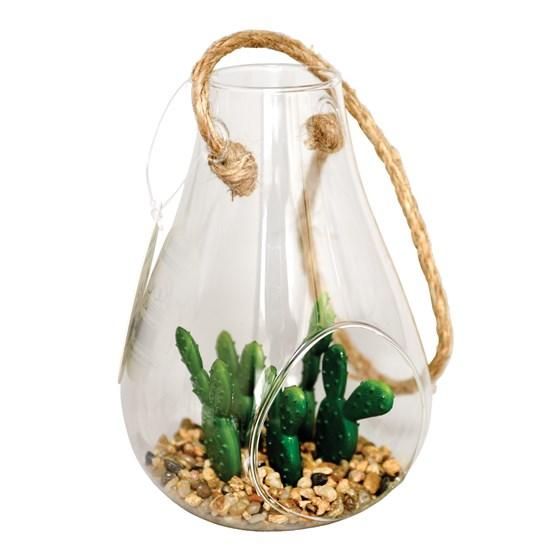 Cactus artificiel petit terrarium kew grossiste - Petit terrarium ...