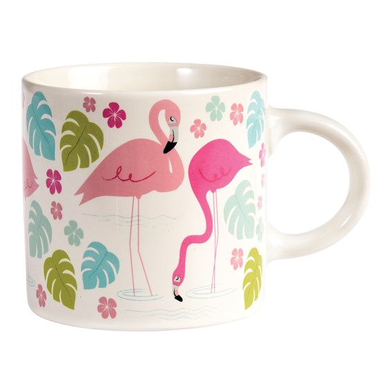 "mug ""flamingo bay"""