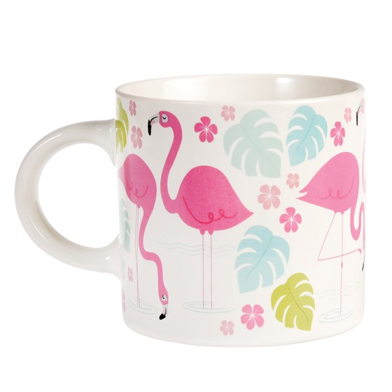 flamingo bay mug