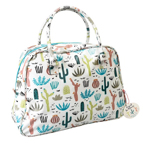 "weekend-tasche ""desert in bloom"""