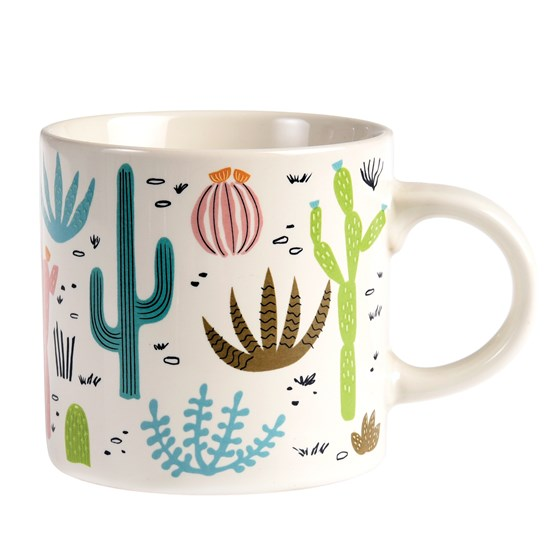 "mug ""desert in bloom"""