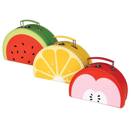 fun fruity cases (set of 3)