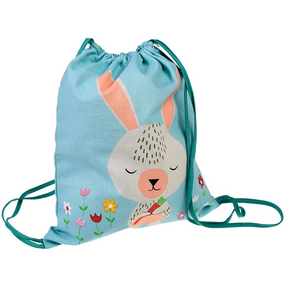 DAISY THE RABBIT DRAWSTRING BAG