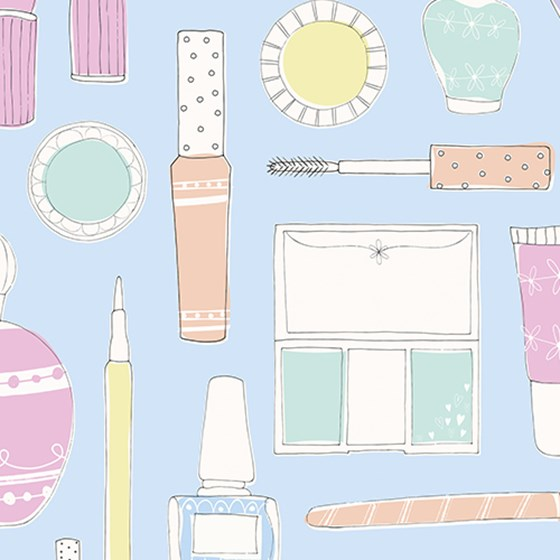 beauty boutique wrapping paper