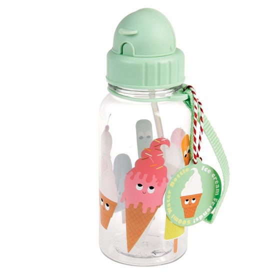 ice cream friends water bottle