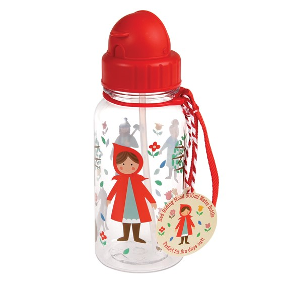 botella de agua infantil red riding hood water bottle