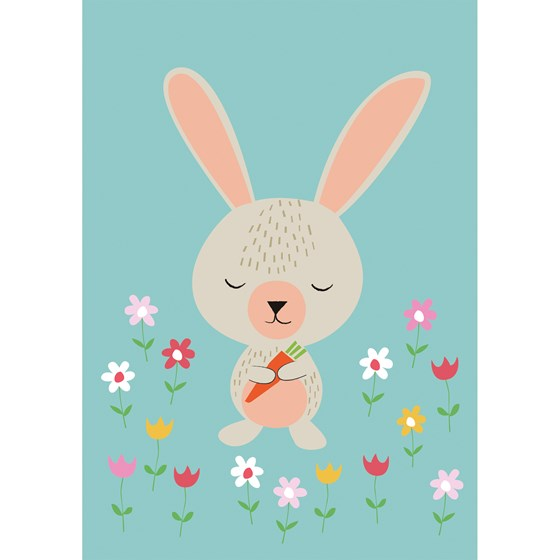 DAISY RABBIT CARD