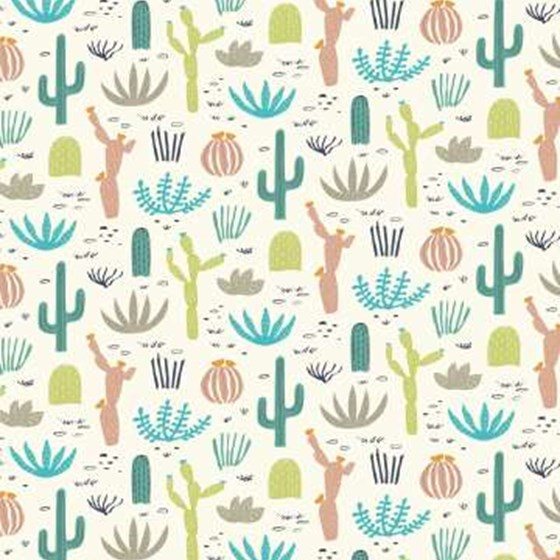 DESERT IN BLOOM WRAPPING PAPER