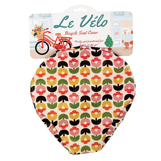 TULIP BLOOM BICYCLE SEAT COVER