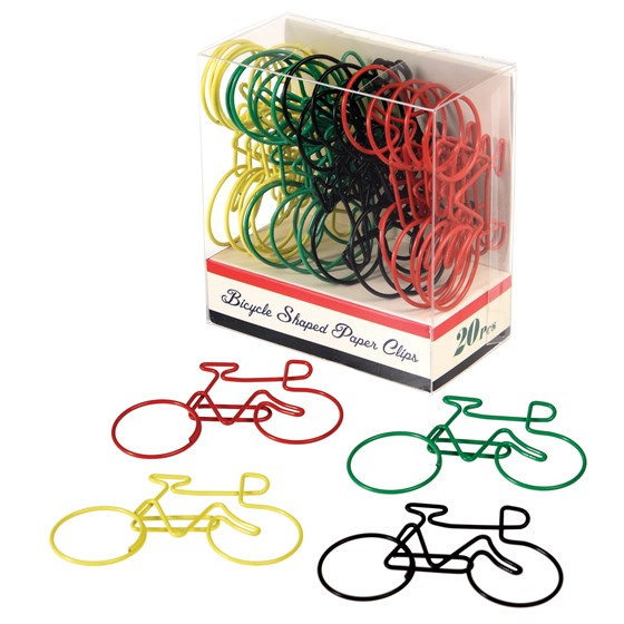 LE BICYCLE PAPER CLIPS