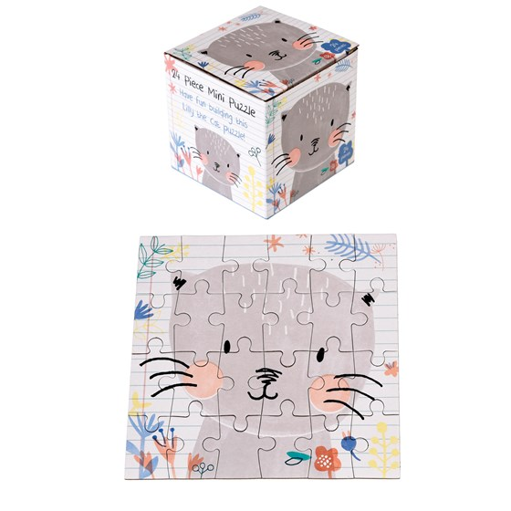 LILLY THE CAT 24 PIECE MINI PUZZLE
