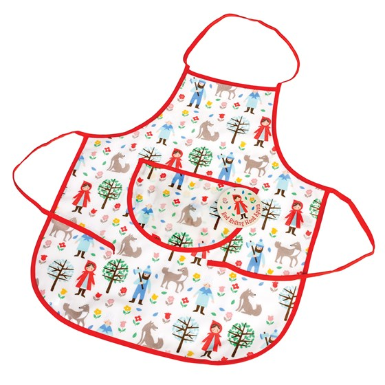 RED RIDING HOOD CHILDREN'S APRON