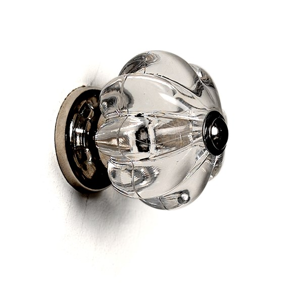 CLEAR DRAWER KNOB ACRYLIC EDWARDIAN