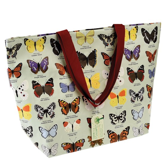 large butterfly shopping bag