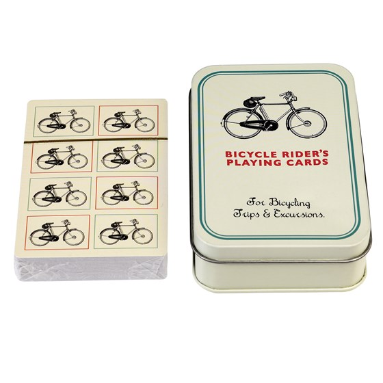 BICYCLE PLAYING CARDS IN A TIN