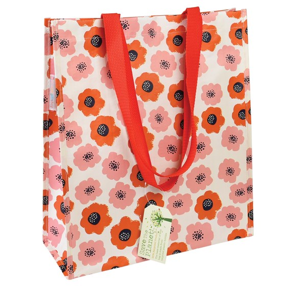 poppy shopping bag