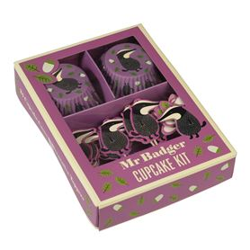cupcake kit mr badger