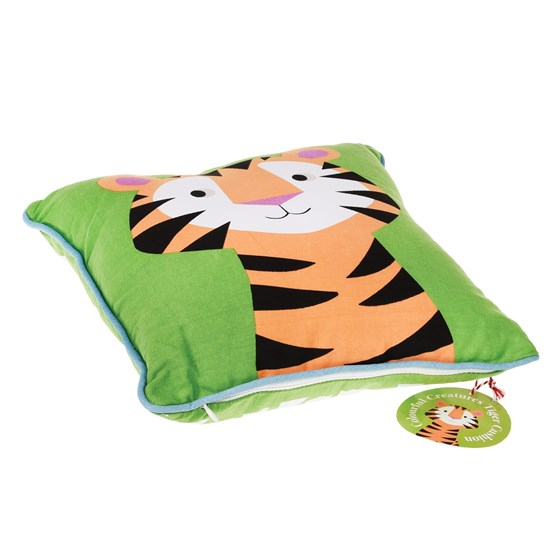 tiger children cushion with pad