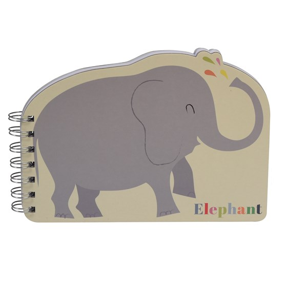 cahier a spirales elephant