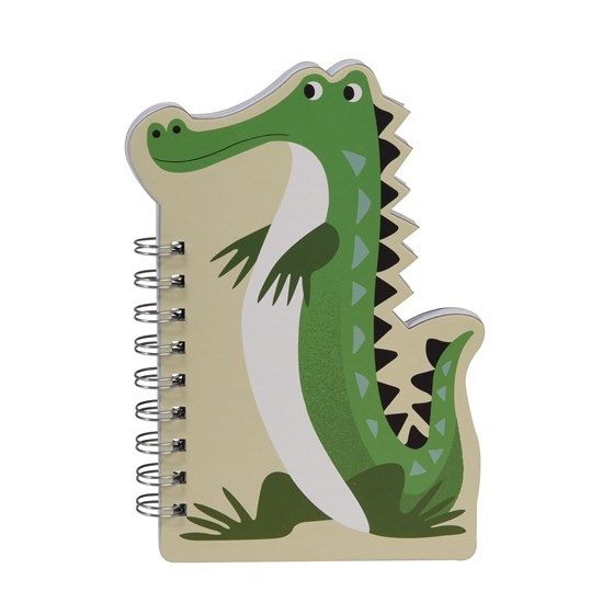 harry the crocodile spiral notebook