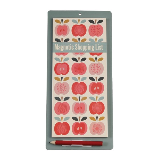 vintage apple shopping list