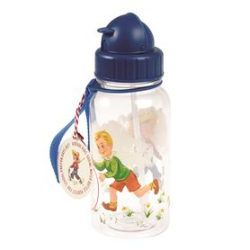 vintage boy kids water bottle