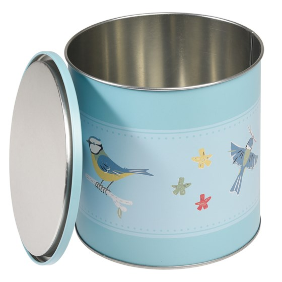 blue tit biscuit barrel