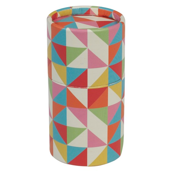 "dose mit 36 buntstiften ""multicolour geometric design"""