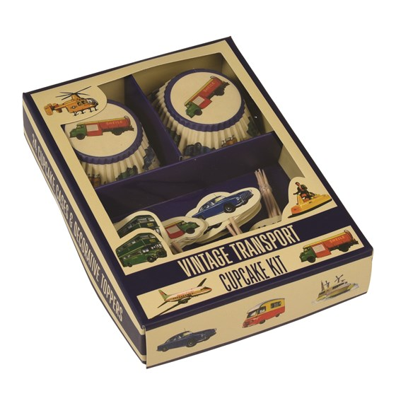 cupcake kit vintage transport