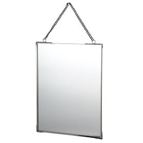 mirror with chain 20x25cm