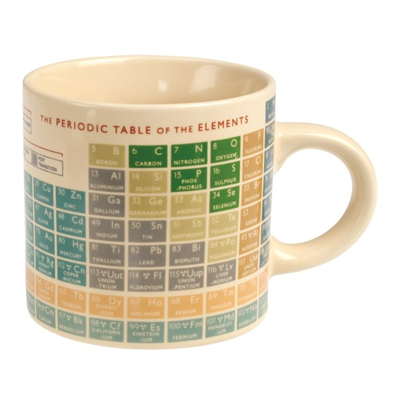 "kaffeebecher ""periodic table"""