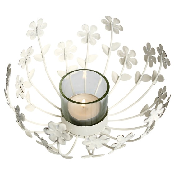 daisy tealight holder table centre