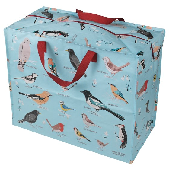 GARDEN BIRDS DESIGN JUMBO STORAGE BAG