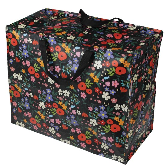 midnight garden design jumbo storage bag