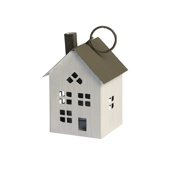 amsterdam house with chimney tealight holder